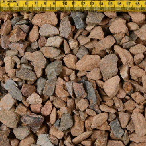 Grauwacke Split 16-32 droog liniaal