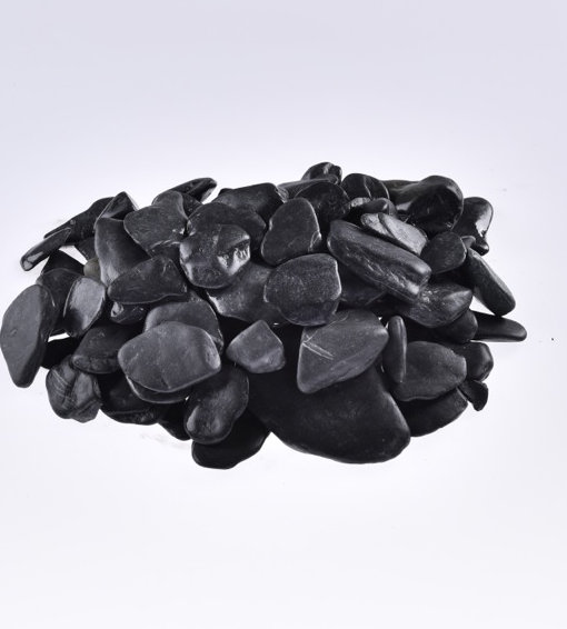 Flat Pebbles Zwart 30-60