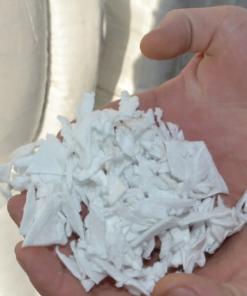 Witte Polyvlokken