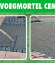 Voegmortel cement