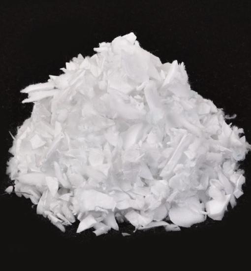 polyvlokken-wit