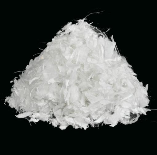 Polyvlokken wit
