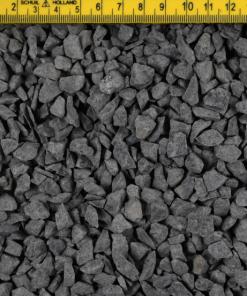 Basalt Split 5-8 droog liniaal