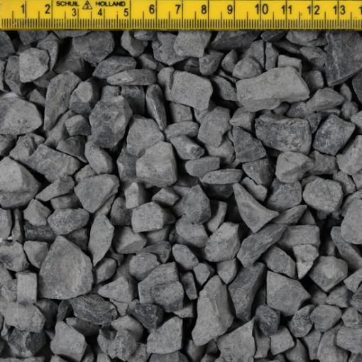 Basalt Split 8-16 droog liniaal