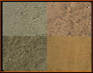 Verkeerd zand paardenbak
