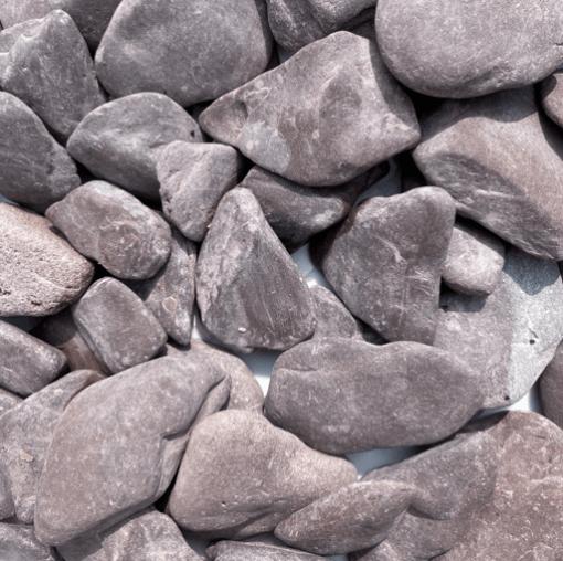 Flat pebbles Paars droog