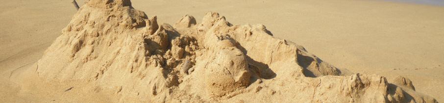 Rijbak te los vs Zandkasteel