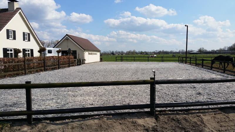 Paardenbodem met Granulight
