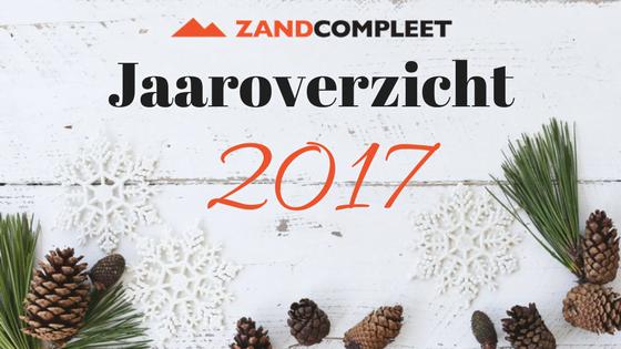 Zandcompleet Jaaroverzicht 2017
